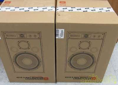 JBL 4319 3Way Speaker Speakers Pair Set for Audio Sound Never Opened Used Mint