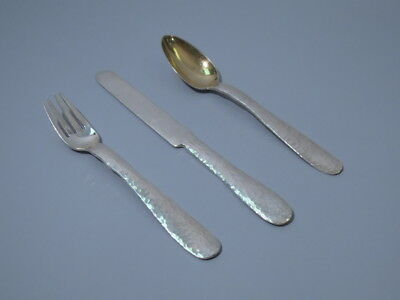 Tiffany Place Setting - Arts & Crafts Craftsman Youth - American Sterling Silver