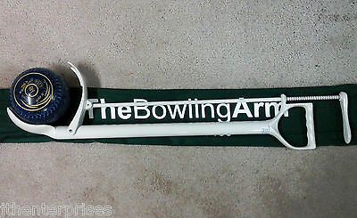 NEW BOWLERS ARM SIZE S, M, L  PALM or THUMB RELEASE COLOURS Lawn Bowls popular