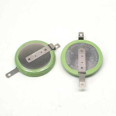 Japan Panasonic BR2330A /FAN battery 3V coin 23MM with solder feet 1PCS