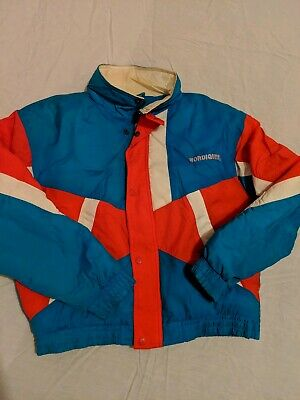 newest 524d8 0bcb1 NHL Quebec Nordiques Vintage Jacket New Face Hockey Winter Parka Youth X  Large