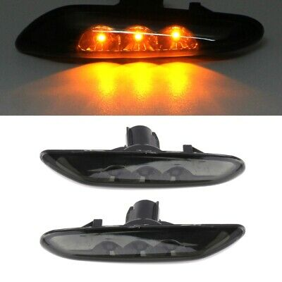 40c95bdcd868 1 pair LED Side Marker Lights Turn Signal Lights Indicator For BMW E82 E60  E90
