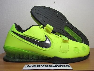 e3d2c4998e5a Nike Romaleos 2 Weightlifting Sz 15 100% Authentic Powerlifting Volt 476927  700