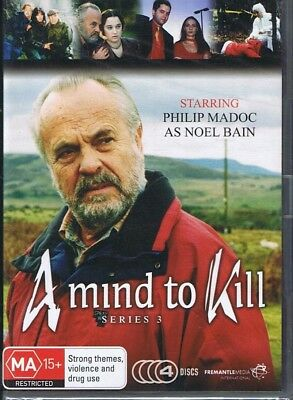 A MIND TO KILL Series / Season 3 (4 x DVD Set) NEW & SEALED Free Post