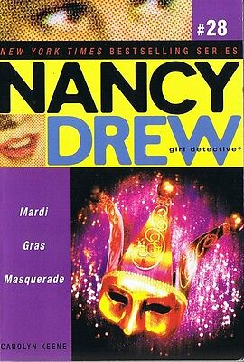 ALL NEW NANCY DREW #28 Mardi Gras Masquerade - Carolyn Keene 2007 Girl Detective