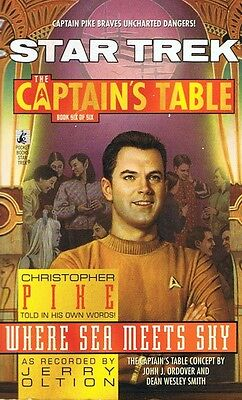 STAR TREK The Captain's Table #6 - Where Sea Meets Sky by Jerry Oltion p/b 1998