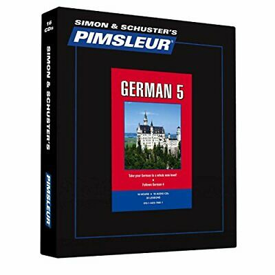 Pimsleur German Level: Learn to Speak and Understand German With Pimsleur Langua