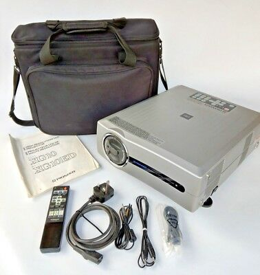 Pioneer RVD-XG10ED High Resolution LCD Projector, Remote & Carry Case
