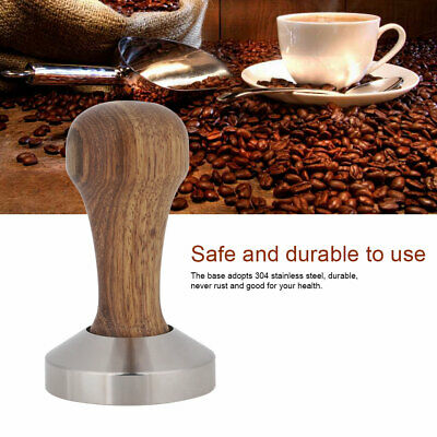 Portable Stainless Steel Espresso Coffee Tamper Flat Press Powder Bean Hammers