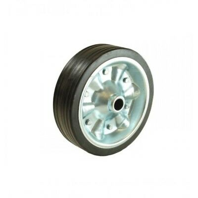 "Maypole 200mm 8"" Heavy Duty Trailer Jockey Wheel Solid Rubber Tyre"