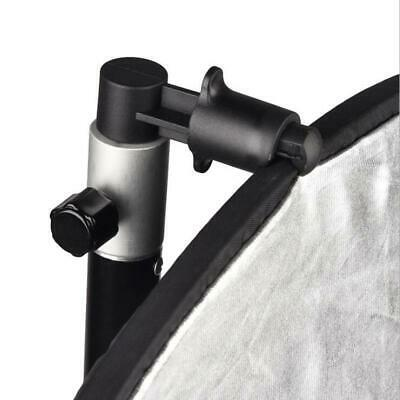 Studio Swivel Light Stand Reflector Background Holder Clip Collapsible FW