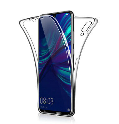 SDTEK Case for Huawei P Smart (2019) 360 Full Cover Silicone Front + Back