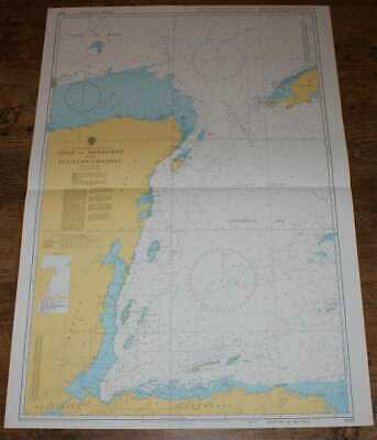 Nautical Chart No. 1220 C America - E Coast, Gulf of Honduras & Yucatan Channel