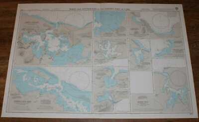 Nautical Chart No. 435 Ports and Anchorages in the Eastern Part of Cuba
