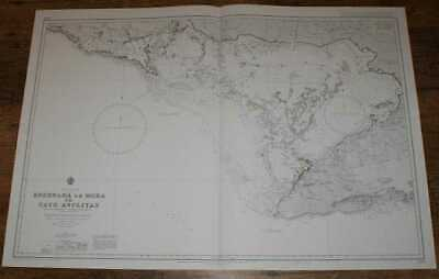 Nautical Chart No. 3799 Cuba - South Coast, Ensenada de Mora to Cayo Anclitas