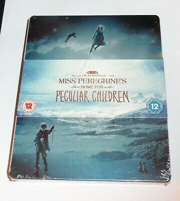 Miss Peregrines Home for Peculiar Children - Blu-Ray Steelbook - 3D & 2D new