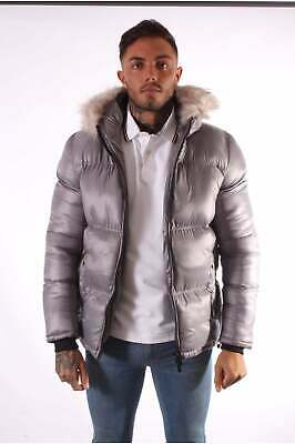 1cba37ceb 4BIDDEN PARKA PUFFER Pilot Coat - FREE NEXT DAY DELIVERY - £37.48 ...