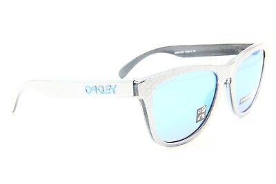 7bac051d89 New Oakley Frogskins Oo9013-C055 Gray Authentic Sunglasses Frame Oo 9013 55- 17