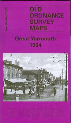 Old Ordnance Survey Map Great Yarmouth 1904