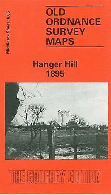 Old Ordnance Survey Map Hanger Hill 1895