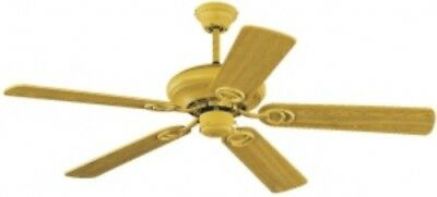 Ceiling Fan Indiana without Light 132 cm Housing and Blades in Bucheoptik