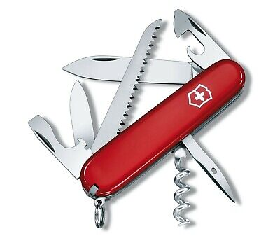 Victorinox Camper Red Rosso 91Mm 12 Funz Swiss Knife Couteau Coltellino 1.3603
