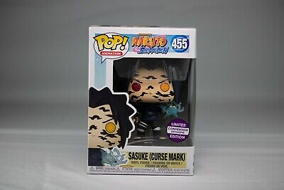 Funko Pop Naruto Shippuden 455 Sasuke Curse Mark Socal Retro Convention