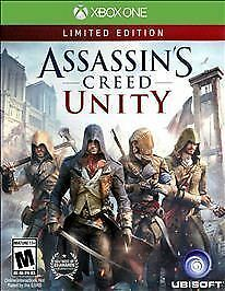 Assassin's Creed: Unity  Limited Edition (Microsoft Xbox One, 2014) NEW/SEALED