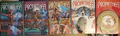 Promethea Book 1 2 3 4 5 TPB complete 1-32 magic Alan Moore Williams III T Klein