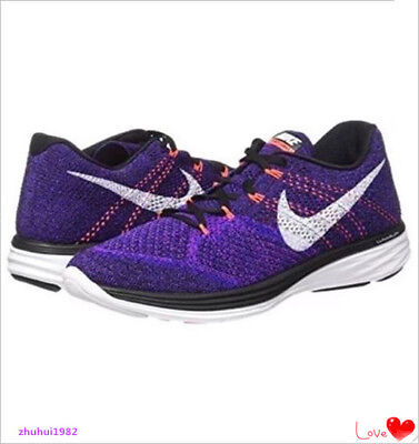 ee1a0d875b3e17 Nike Flyknit Lunar3 Men s Running Sneakers Shoes 698181-014 Brand New Size  8.5