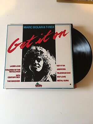 Marc Bolan, T Rex - Get It On Lp