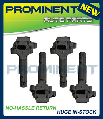 Set 4 Ignition Coils For 2003 2004 2005 Mercedes-Benz C230 1.8L L4 UF555 C1690