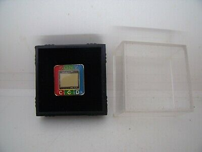 RARE Pin's Pins Pin Badge SONY CAPTEUR APN CCD SENSOR TOP BOX / BOITE !!!