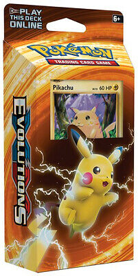 XY Evolutions - Theme Deck (Pikachu Power) Pokemon New Sealed