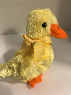 f235d363768 TY QUACKINGTON THE DUCK BEANIE BABY - HALLMARK EXCLUSIVE - NO HANG ...