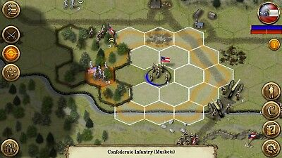 Civil War: 1861 -A Hex based strategic tactical combat game - Steam Key Only