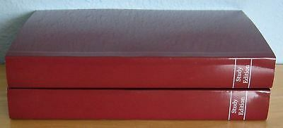 2 Softcover Study Editions Alcoholics Anonymous Big Book w/ Orig Manuscript NEW