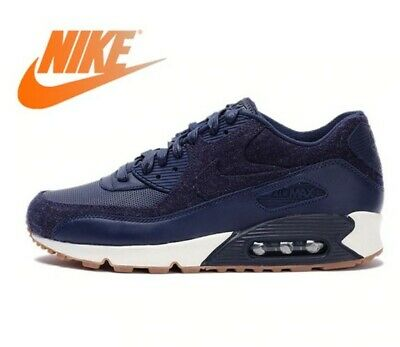 best loved 0d96e 0dbc8 Basket NIKE AIR MAX 90 PREMIUM Hommes de Chaussures de Course Sneaker Sport