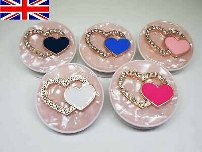 Universal Diamond Heart Pop Out Phone Holder Expanding Grip Mount for iPhone