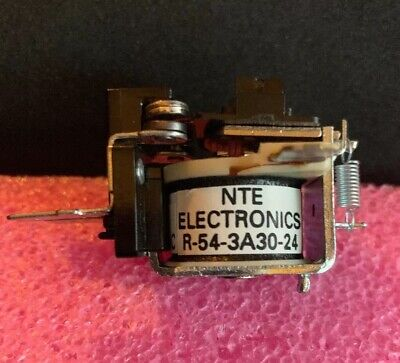 """NTE Electronics R-54-3A30-24 Relay """"New"""" -Free Shipping"""
