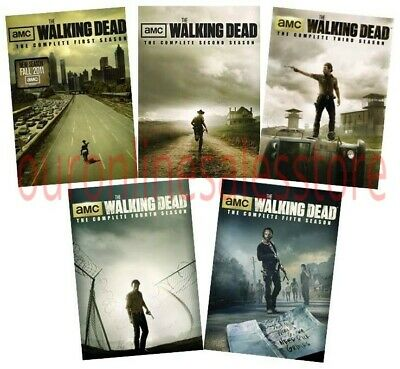 The Walking Dead DVD ALL Season 1-5 Complete DVD Set Collection Series TV Lot R1