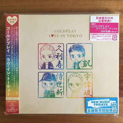 Japan Only Limited Edition Live Cd Sent From Berlin! Coldplay Love In Tokyo 2018