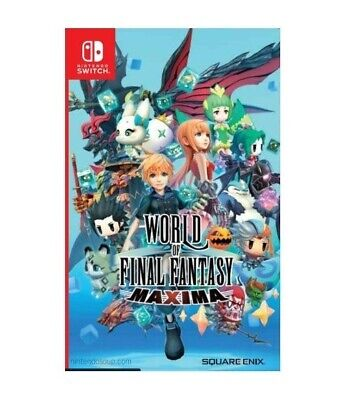 World of Final Fantasy Maxima - Nintendo Switch
