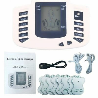 Electrical Stimulation Massage Tens Unit Machine Muscle Therapy Pain Relief USB