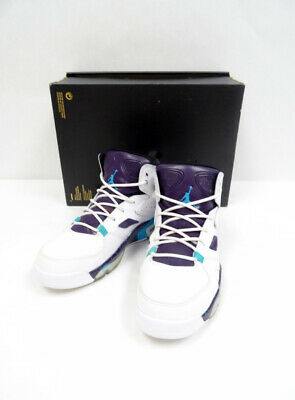 6067a64406c6 NIKE JORDAN FLIGHT Club  91 555475 105 White Blue Sz9.5 P1 N6703 ...