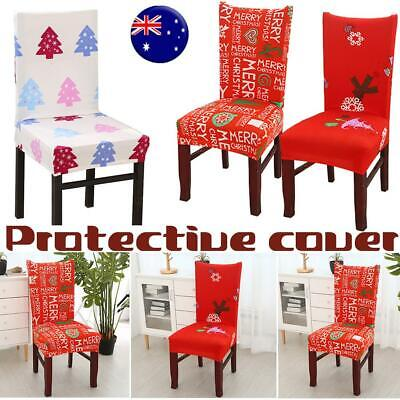 2/4/6/8Pc Stretch Dining Chair Cover Removable Slipcover Washable Banquet Event