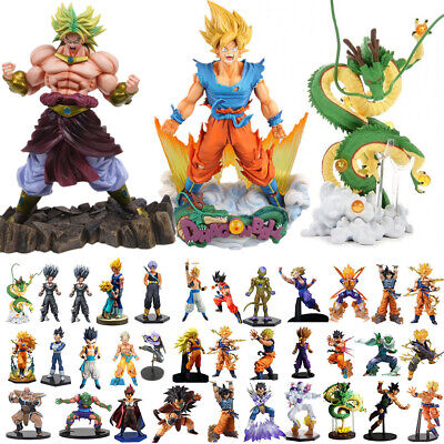 Dragon Ball Z Super Saiyan Son Goku Vegeta Kai Broly Figure Anime Figurine Toy