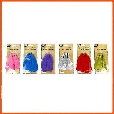 48 x CRAFT TASSELS 7 cm | Jewellery Clothing Fashion Accessories Embellishment