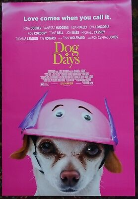 DOG DAYS Original Movie Poster 27x40 2-Sided Authentic Rated Version