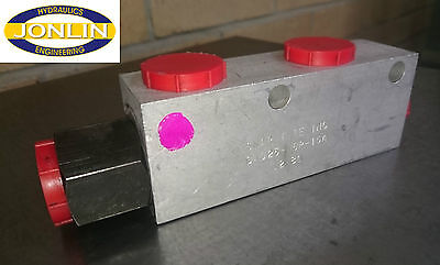 "SNAP TITE INC CAD25-N6P-15A Dual Pilot Operated Check Valve - CAD 3/4"" BSP"